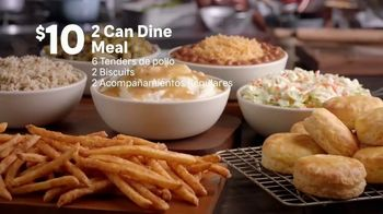 Popeyes 2 Can Dine Meal TV Spot, 'Solo $10 dólares' [Spanish] - Thumbnail 5