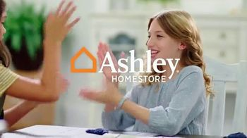 Ashley HomeStore Fall in Love With Home Sale TV Spot, \'30% Off and 0% Interest\'