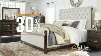 Ashley HomeStore Fall in Love With Home Sale TV Spot, '30% Off and 0% Interest' - Thumbnail 4