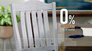 Ashley HomeStore Fall in Love With Home Sale TV Spot, '30% Off and 0% Interest' - Thumbnail 6