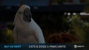 DIRECTV Cinema TV Spot, 'Cats & Dogs 3: Paws Unite!' - Thumbnail 2