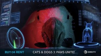 DIRECTV Cinema TV Spot, 'Cats & Dogs 3: Paws Unite!'