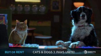 DIRECTV Cinema TV Spot, 'Cats & Dogs 3: Paws Unite!' - Thumbnail 4
