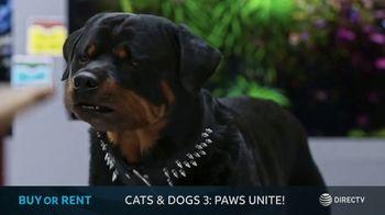 DIRECTV Cinema TV Spot, 'Cats & Dogs 3: Paws Unite!' - Thumbnail 8