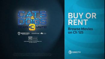DIRECTV Cinema TV Spot, 'Cats & Dogs 3: Paws Unite!' - Thumbnail 9