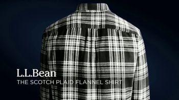 L.L. Bean Scotch Plaid Flannel Shirts TV Spot, 'Made for This' Song by Cheryl Lynn - Thumbnail 3