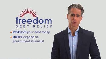 Freedom Debt Relief TV Spot, 'Urgent Message: Resolve Today'