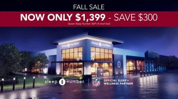 Sleep Number Fall Sale TV Spot, 'Queen c4 Smart Bed: $1,399' - Thumbnail 6