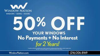 Window Nation TV Spot, 'Video Call: 50% Off Windows' Featuring Carlos Carrasco - Thumbnail 7