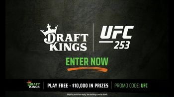DraftKings TV Spot, 'UFC 253: $10,000 Pool' - 16 commercial airings