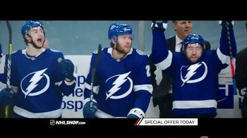 NHL Shop TV Spot, 'Official Stanley Cup Hat and T-Shirt'