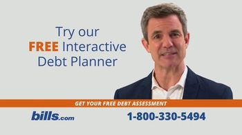 Bills.com TV Spot, 'Free Interactive Debt Planners'