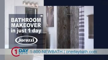 One Day Bath and Shower Remodeling Home Sweet Home Sale TV Spot, '50% Off, Free Upgrade'
