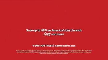 Mattress Firm Save Big Sale TV Spot, 'Save Up to $300 Plus Free Adjustable Base' - Thumbnail 9