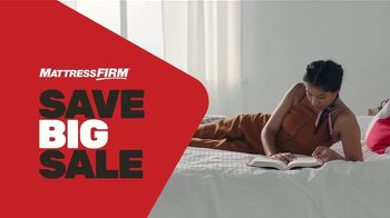 Mattress Firm Save Big Sale TV Spot, 'Save Up to $300 Plus Free Adjustable Base'