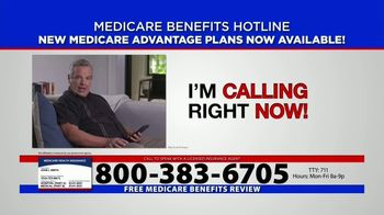 Medicare Benefits Hotline TV Spot, 'Everyone on Medicare: Advantage Plans' - Thumbnail 6