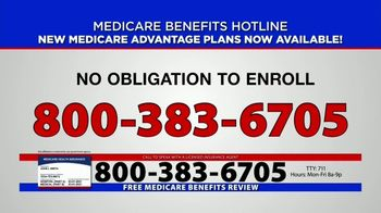 Medicare Benefits Hotline TV Spot, 'Everyone on Medicare: Advantage Plans' - Thumbnail 2