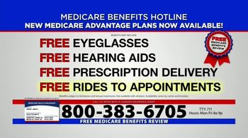 Medicare Benefits Hotline TV Spot, 'Everyone on Medicare: Advantage Plans'