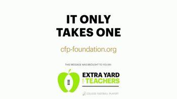 College Football Playoff Foundation TV Spot, 'Extra Yard for Teachers: McGuire' Ft. Darren Woodson - Thumbnail 10