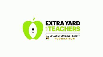 College Football Playoff Foundation TV Spot, 'Extra Yard for Teachers: McGuire' Ft. Darren Woodson - Thumbnail 2