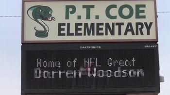 College Football Playoff Foundation TV Spot, 'Extra Yard for Teachers: McGuire' Ft. Darren Woodson - Thumbnail 5