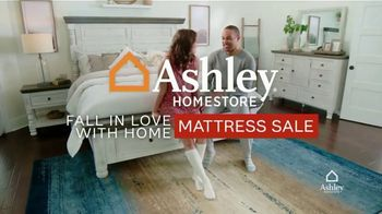 Ashley HomeStore Fall in Love With Home Mattress Sale TV Spot, 'Save Up to 20% Off Glideaway Bases' - Thumbnail 1