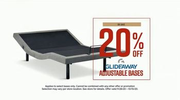 Ashley HomeStore Fall in Love With Home Mattress Sale TV Spot, 'Save Up to 20% Off Glideaway Bases' - Thumbnail 4