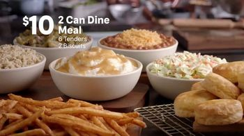 Popeyes 2 Can Dine for $10 TV Spot, 'Thinking Dinner for Two?'