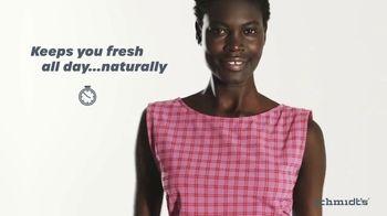 Schmidt's Naturals TV Spot, 'Natural Deodorant That Works'