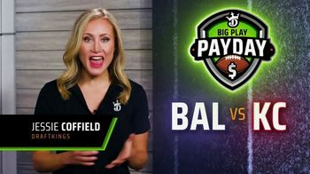 DraftKings Big Play Payday TV Spot, 'Back Again: Free Ticket' - 2 commercial airings