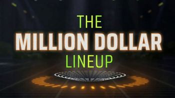 DraftKings TV Spot, 'NFL: Million Dollar Lineup' - 2 commercial airings