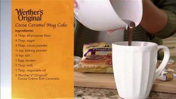 Werther's Original TV Spot, 'Ion Television: Cocoa Caramel Mug Cake' Featuring Lauren O'Quinn - Thumbnail 4