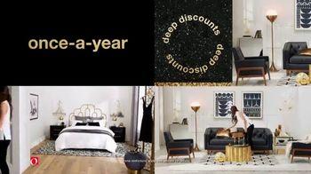 Overstock.com Anniversary Sale TV Spot, 'Deep Discounts' - Thumbnail 4
