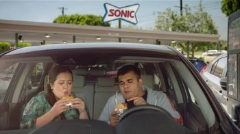 Sonic Drive-In Jr. Garlic Butter Bacon Burger TV Spot, 'The Party' - Thumbnail 1