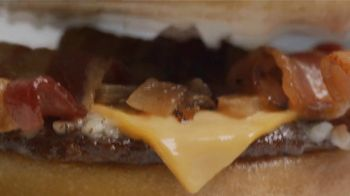 Sonic Drive-In Jr. Garlic Butter Bacon Burger TV Spot, 'The Party'