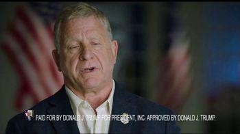 Donald J. Trump for President TV Spot, 'Law Enforcement on Joe Biden' - Thumbnail 9