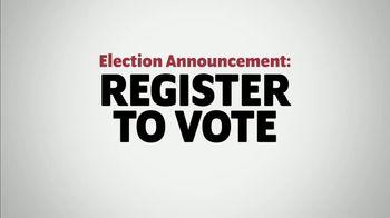 Election Announcement: Register Right Now thumbnail