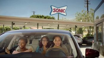 Sonic Drive-In Jr. Garlic Butter Bacon Burger TV Spot, 'Excited Song'