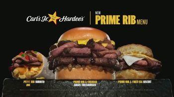 Carl's Jr. Prime Rib Menu TV Spot, 'We Didn't Stop'