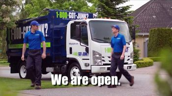 1-800-GOT-JUNK TV Spot, 'All You Have to Do Is Point: Open' - Thumbnail 1