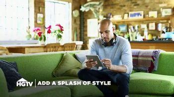 Overstock.com TV Spot, 'HGTV: Splash of Style' - Thumbnail 1