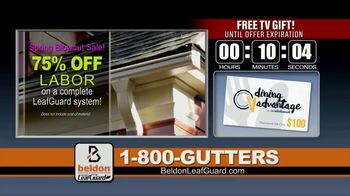 Beldon LeafGuard Spring Blowout Sale TV Spot, 'Keep America Rolling' - Thumbnail 4