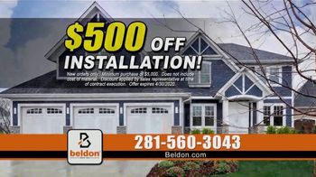Beldon Siding TV Spot, 'Shield Your Home: $500 Off' - Thumbnail 6