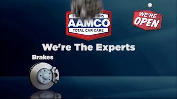 AAMCO Transmissions TV Spot, 'Open for Business: Free Towing and 50 Percent Off' - Thumbnail 2