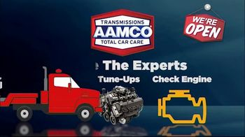 AAMCO Transmissions TV Spot, 'Open for Business: Free Towing and 50 Percent Off' - Thumbnail 3
