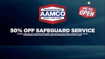 AAMCO Transmissions TV Spot, 'Open for Business: Free Towing and 50 Percent Off' - Thumbnail 5