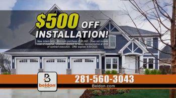 Beldon Siding TV Spot, 'Tired of Painting Your House: $500 Off Installation + Bonus'