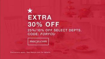 Macy's TV Spot, 'The Small Things: Extended Savings' - Thumbnail 5