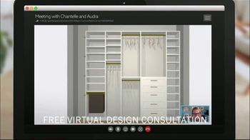 California Closets TV Spot, 'Organize: Free Virtual Design Consultations' - Thumbnail 8