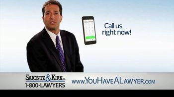 Saiontz & Kirk, P.A. TV Spot, 'Devastating Results' - Thumbnail 8